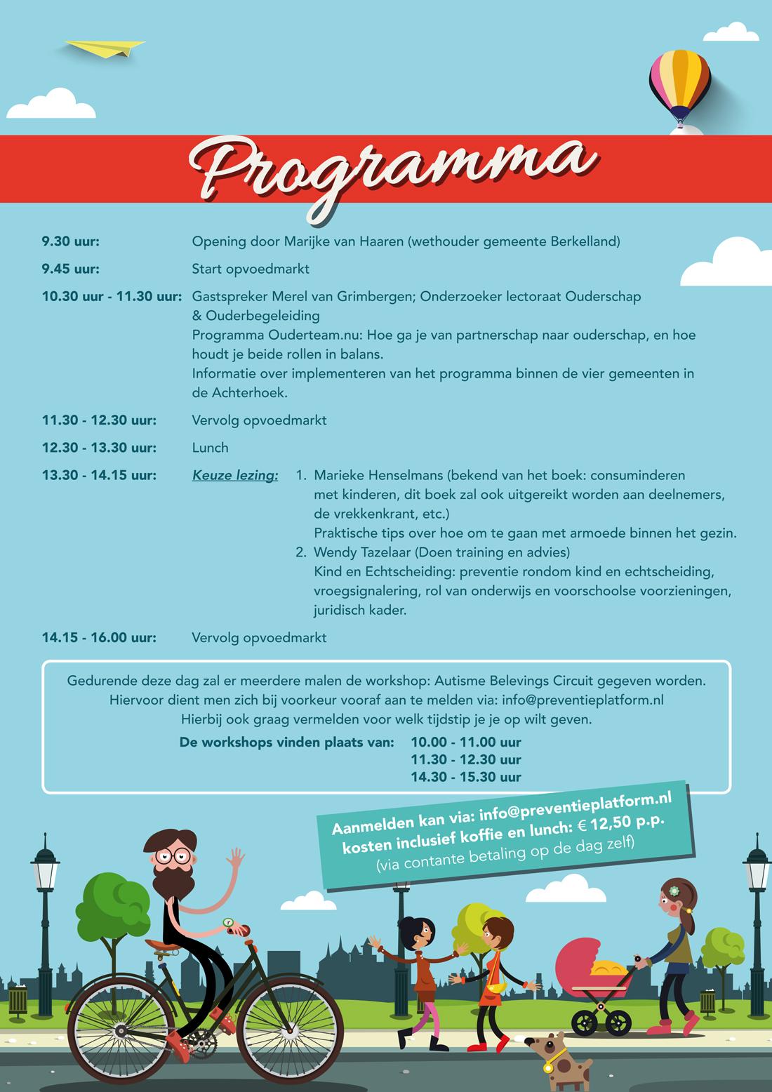 poster 9 oktober programma - professionals