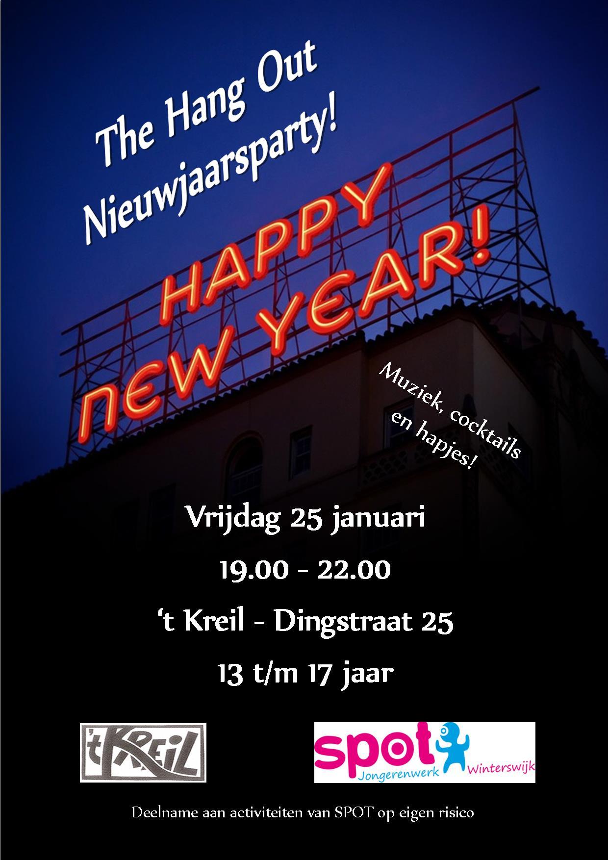 Poster Nieuwjaarsparty